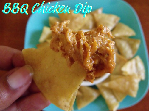 Barbecue Chicken Dip (1/2)