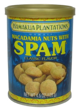 Macadamia Nuts with SPAM