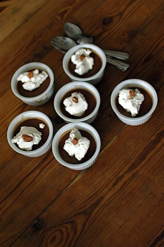 hazelnut pot de creme