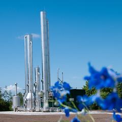pabrik pengolahan Biogas
