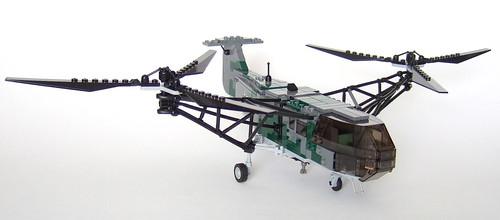 LEGO Focke-Achgelis Fa 223 helicopter