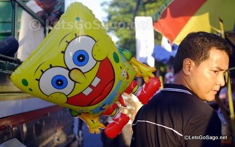 Spongebob Cameo in Pahiyas of Lucban, Quezon
