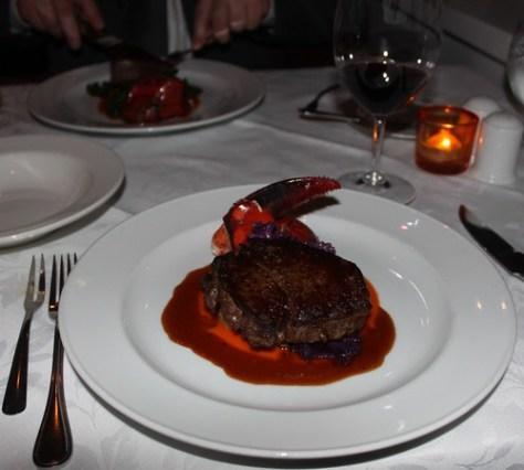 Steak and Lobser