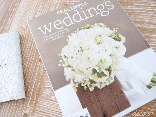Real Simple Weddings 2010
