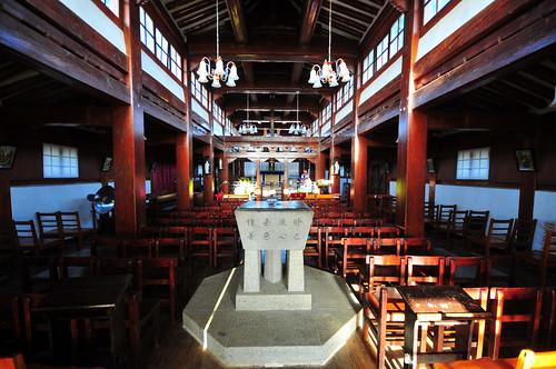 Interior, Ganghwa Anglican Church