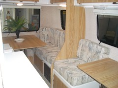 Interior of the Casita Spirit Deluxe