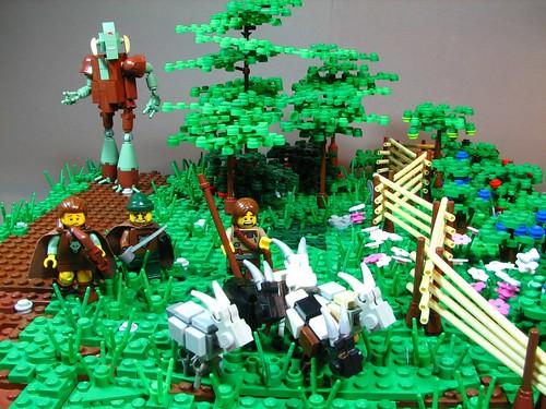 LEGO jovian goat theft