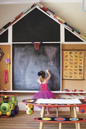 Charlotte Home & Garden chalkboard