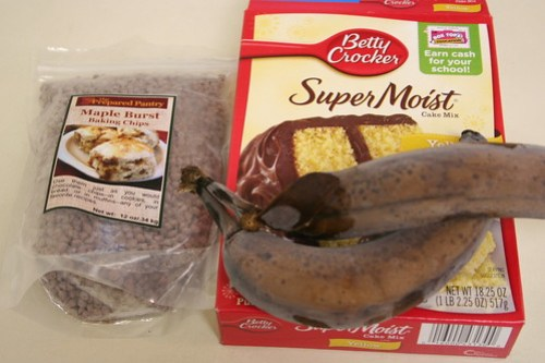 Banana Maple Breakfast Bread