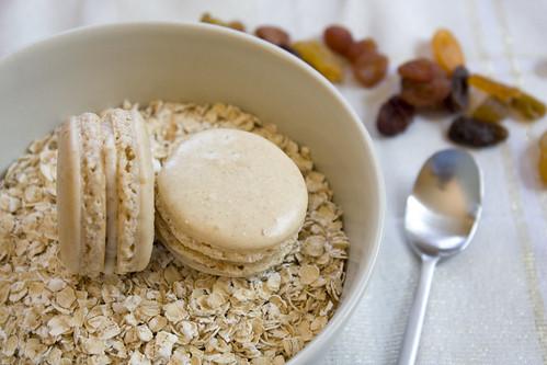 Oatmeal Raisin Macarons