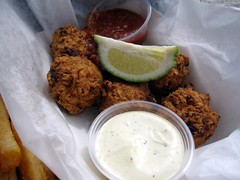 b.o.'s fish wagon - conch fritters basket by foodiebuddha