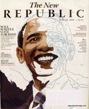New Republic - Will whites vote for him