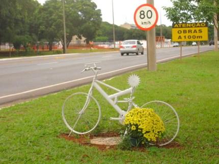 A bicicleta Branca de Brasília