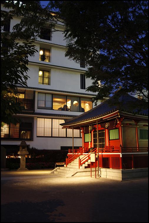 Modern Vs Traditional, Asakusa Tokyo