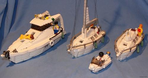 LEGO Daniel Z boats