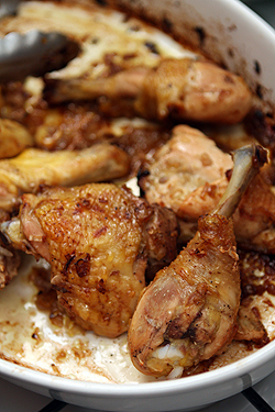 caramelized shallot chicken