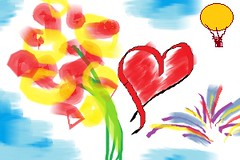 Of Ballons, Fireworks, FLowers & Valentines