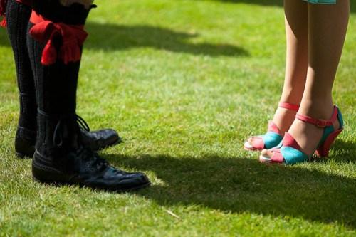 Funky footwear