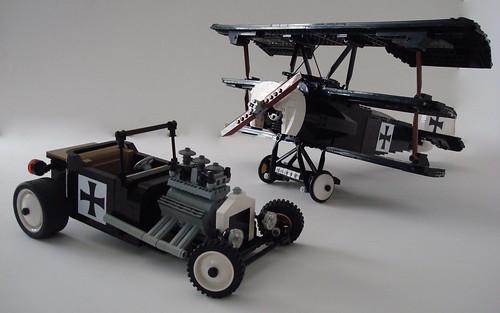 Lego Lino Martins Fokker DR-1 T-Bucket