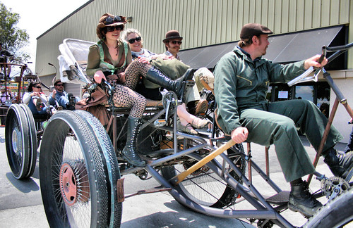 Pedal Powered Steampunk
