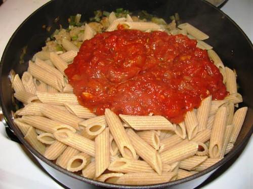 Turkey Sausage & Pasta Bake 5