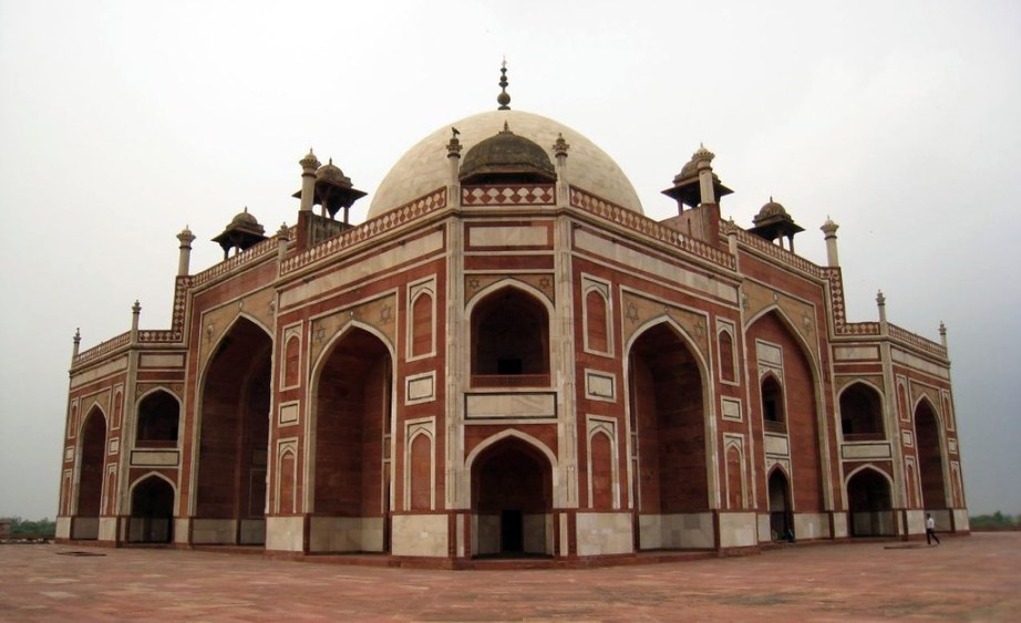 Humayun's Tomb in Delhi is the architectural precursor to the Taj Mahal.