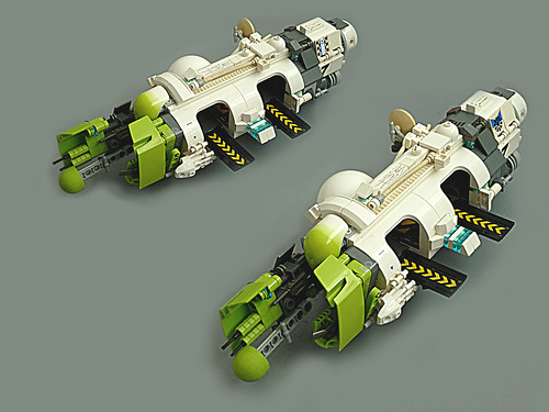 LEGO microscale space carrier