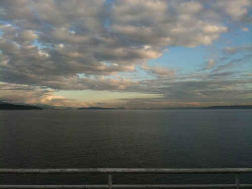 Vancouver from BC Ferries