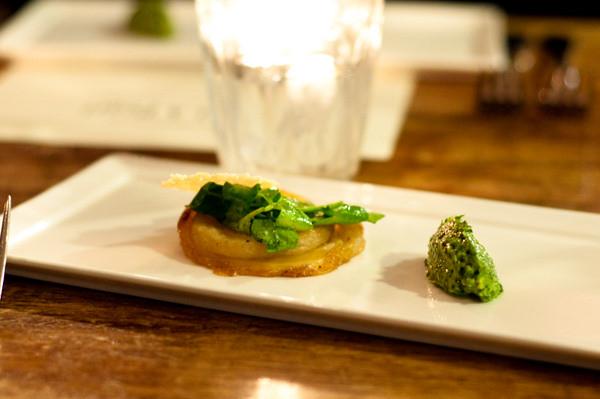 Provenance Food & Wine - pear degustation