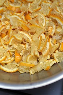 bergamots in pot