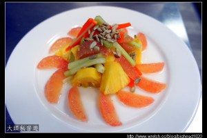 [西餐]沙拉類 葡萄柚西芹鳯梨沙拉