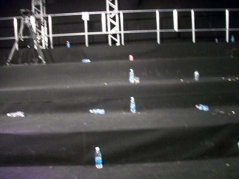 Lixo deixado pelos participante do #ForumSWU