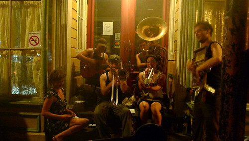 Tuba Skinny, street band on Frenchmen in New Orleans