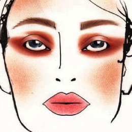MAC Fourply Face Chart