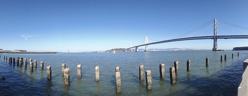The Bay Bridge  Graeme's Sky Enhancer