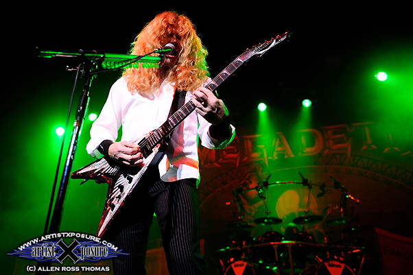 Megadeth's Dave Mustaine Live Photo