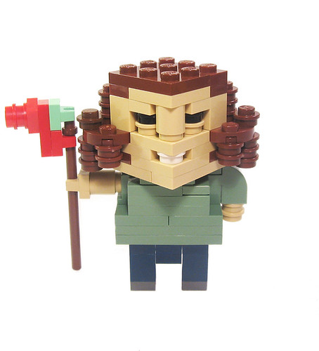LEGO Lost Hurley CubeDude