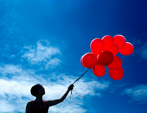 Eagranie and the red balloons