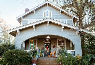 Charlotte NC craftsman home Elizabeth