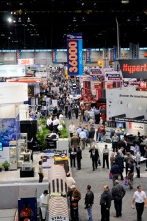 FABTECH Expo Floor - Chicago 2009
