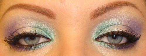 Tri-Color Eyeshadow Look