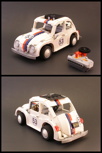 Lego Herbie PowerFunctions Lugnuts Challenge