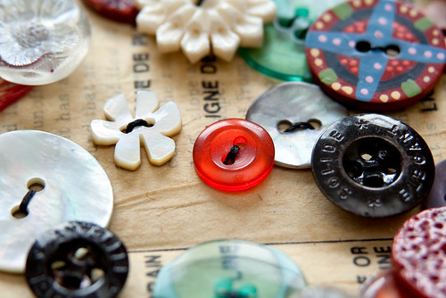 Altered Book- Buttons-4
