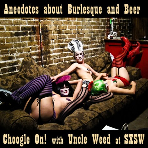 beer and burlesque