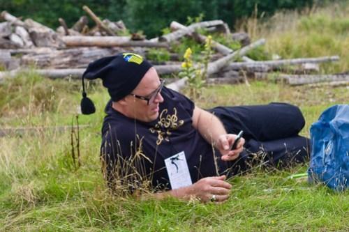 Nikke Lindqvist @ SSWC 2010 (Sweden Social Web Camp)