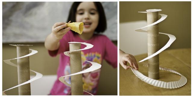 DIY Doll Slides and Castles - 1