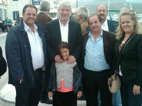 Με τους υποψηφίους δημάρχους Ελαφονησου