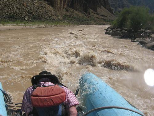 shooting some rapids