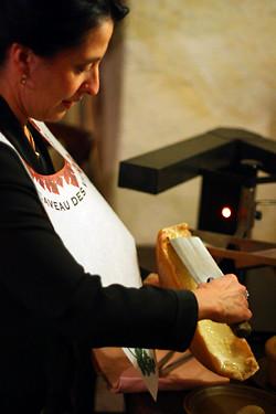 scraping raclette