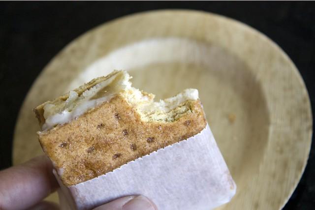 Apple Tatin Ice Cream Sandwich
